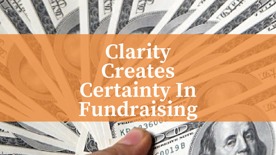 Fund-a-Need: Clarifying Goals and Opportunities
