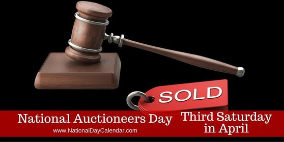 Today is National Auctioneers Day